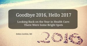 Looking Back on the Year in Health Care: There Were Some Bright Spots